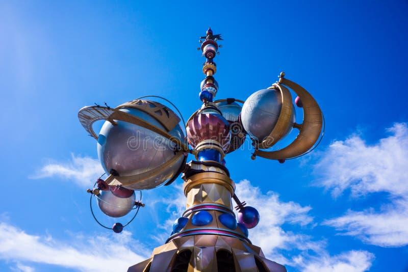 Спутник Дисней Tomorrowland Astro стоковое изображение