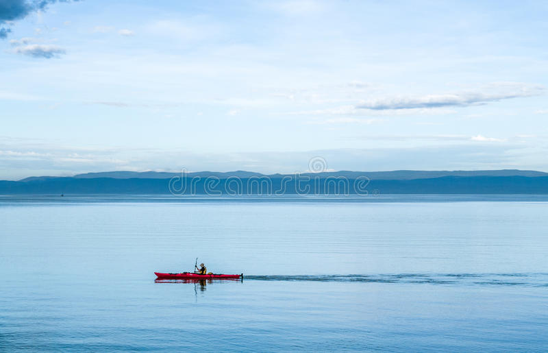 Сплавляться в Тасмании стоковые фотографии rf