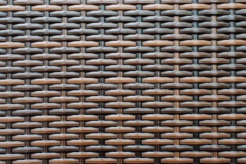 Сплетенная текстура striped пластмассой стоковая фотография rf
