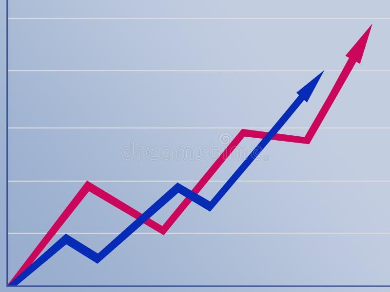 Download сравнивать рост иллюстрация штока. иллюстрации насчитывающей остроконечно - 77463