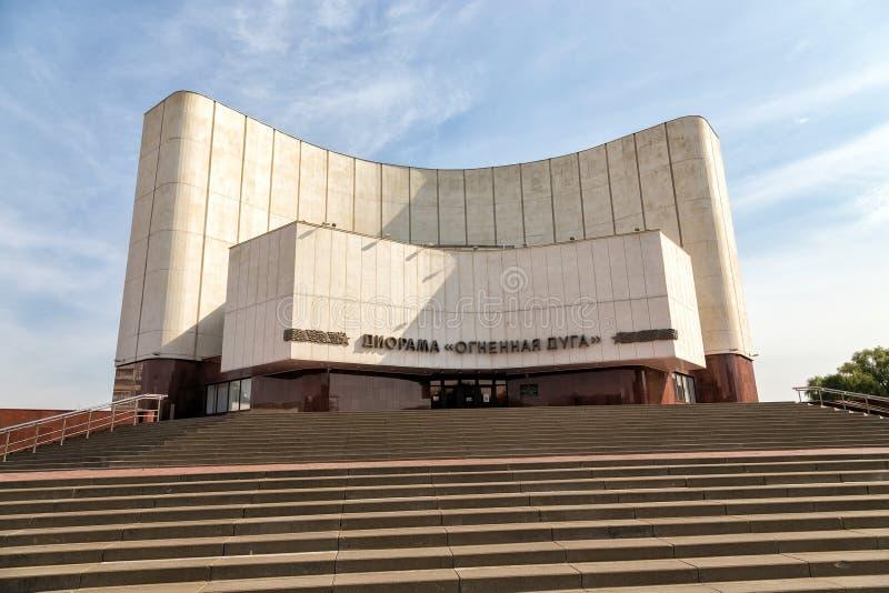Сражение диорамы Курска Белгород Россия стоковая фотография rf