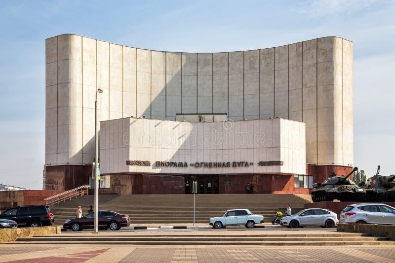 Сражение диорамы Курска Белгород Россия стоковая фотография