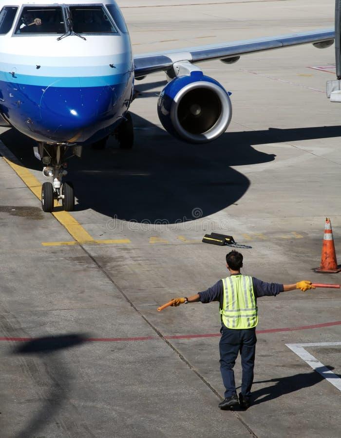 сразу самолета стоковое изображение rf