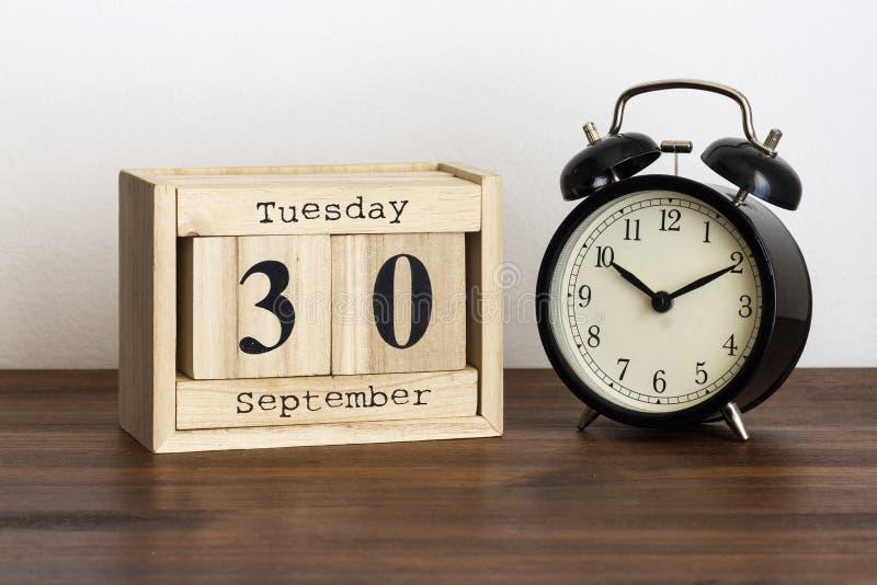 Среда 30-ое сентябрь стоковое изображение rf