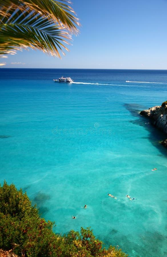 Средиземное море стоковое изображение
