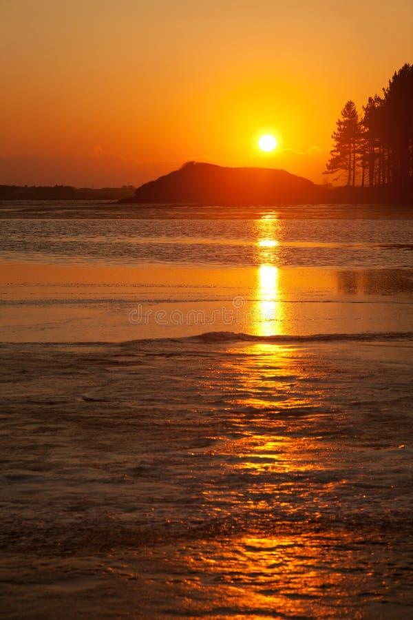 средиземно над восходом солнца моря стоковые изображения