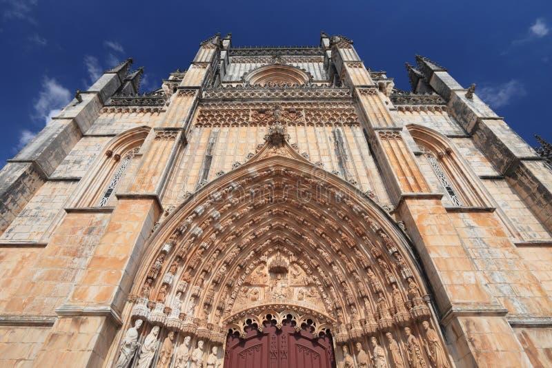 Средневековая готическая церковь стоковое фото