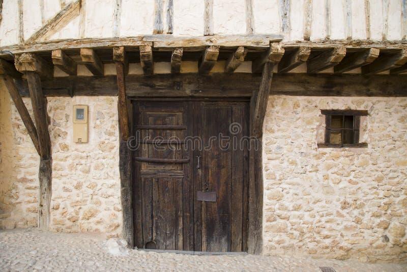 Средневековая деревня Calatanazor в Сории стоковое изображение rf