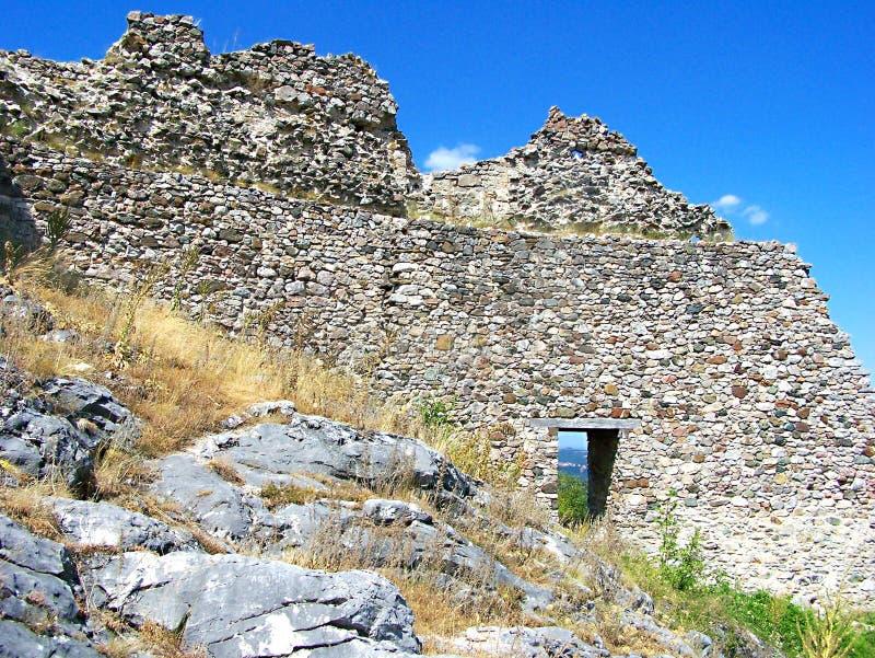 Средневековая крепость Koznik стоковые фото
