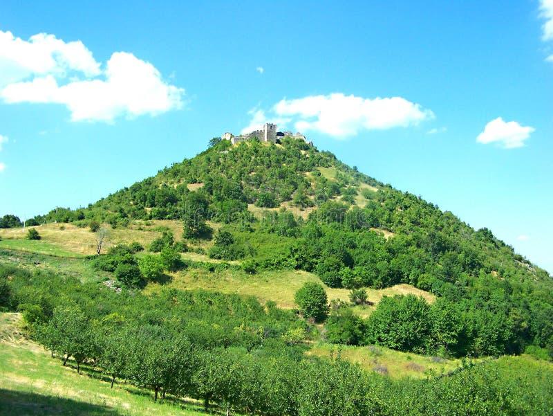 Средневековая крепость Koznik стоковое изображение