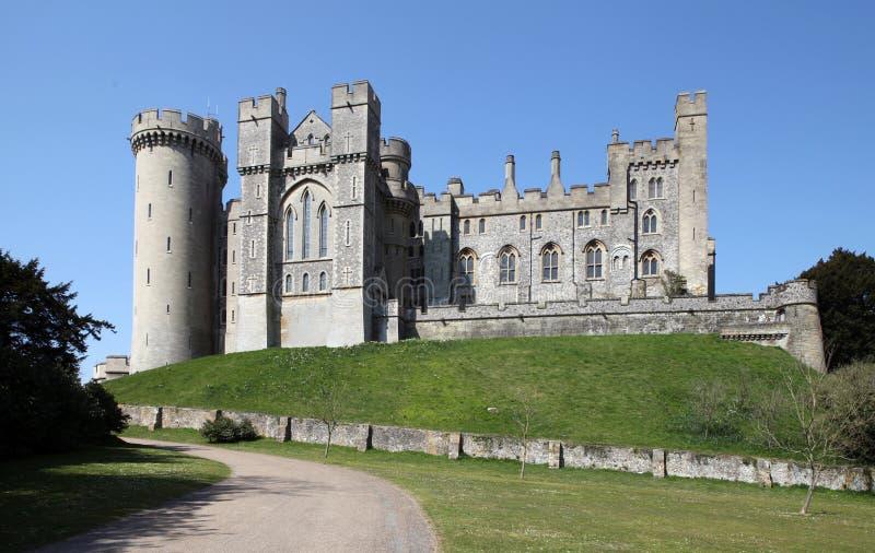 средневековое замока arundel английское стоковые фотографии rf