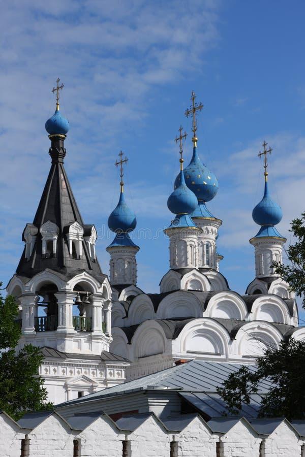 средневековое traditonal русского скита стоковое изображение rf