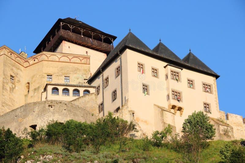 Средневековый замок в Европе стоковые фотографии rf