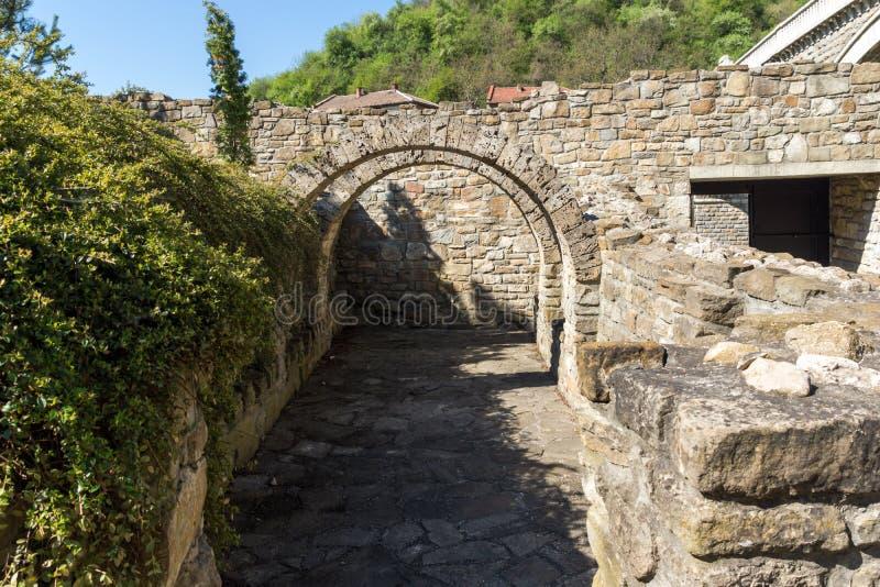Средневековый святая церковь 40 мучеников - восточная православная церков церковь построенная в 1230 в городке Veliko Tarnovo, Бо стоковая фотография rf