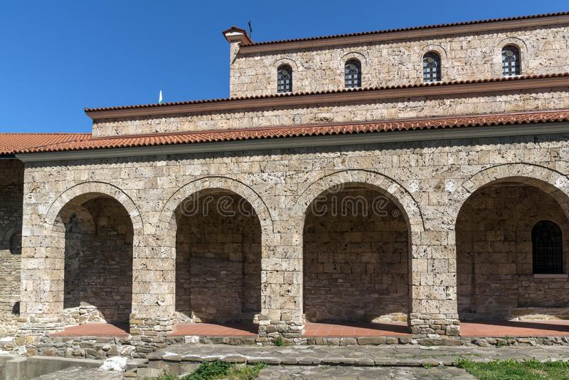 Средневековый святая церковь 40 мучеников - восточная православная церков церковь построенная в 1230 в городке Veliko Tarnovo, Бо стоковые фотографии rf