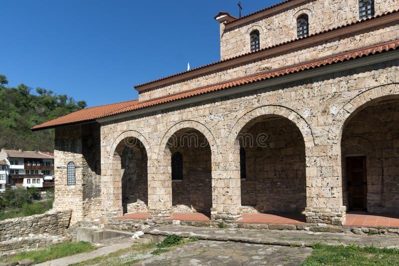 Средневековый святая церковь 40 мучеников - восточная православная церков церковь построенная в 1230 в городке Veliko Tarnovo, Бо стоковые изображения rf