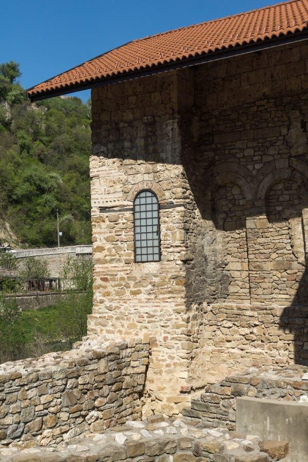 Средневековый святая церковь 40 мучеников - восточная православная церков церковь построенная в 1230 в городке Veliko Tarnovo, Бо стоковое фото rf
