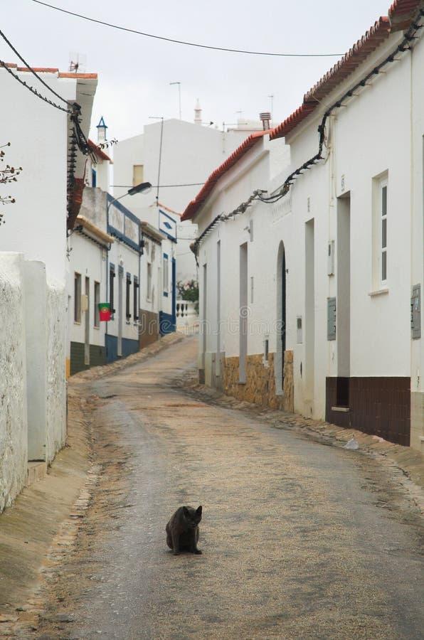 среднеземноморское тихое село стоковая фотография