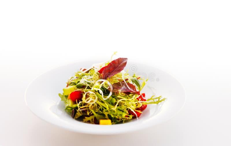 Среднеземноморской кудрявый салат стоковые фото