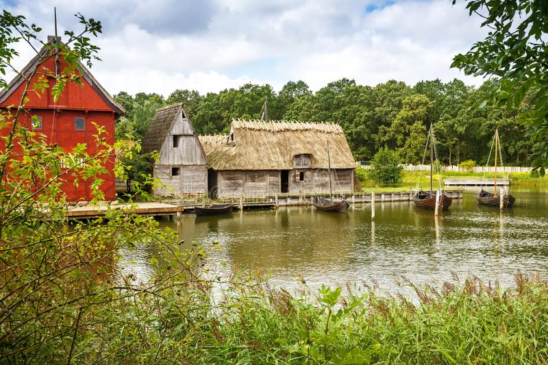 Средние возрасты центризуют в Дании стоковое изображение