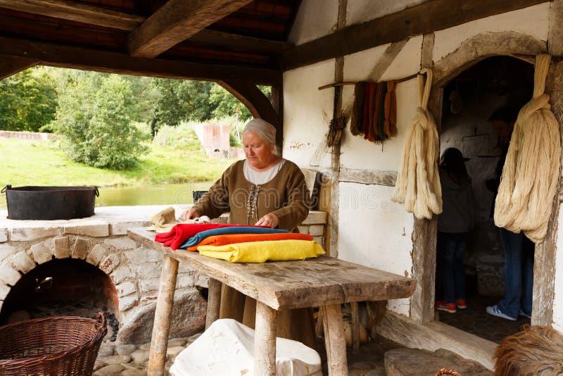 Средние возрасты центризуют в Дании стоковые изображения rf