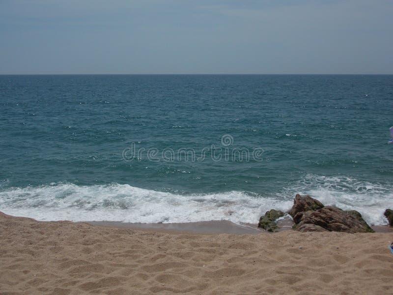 Средиземное море, Барселона, Испания стоковые изображения rf