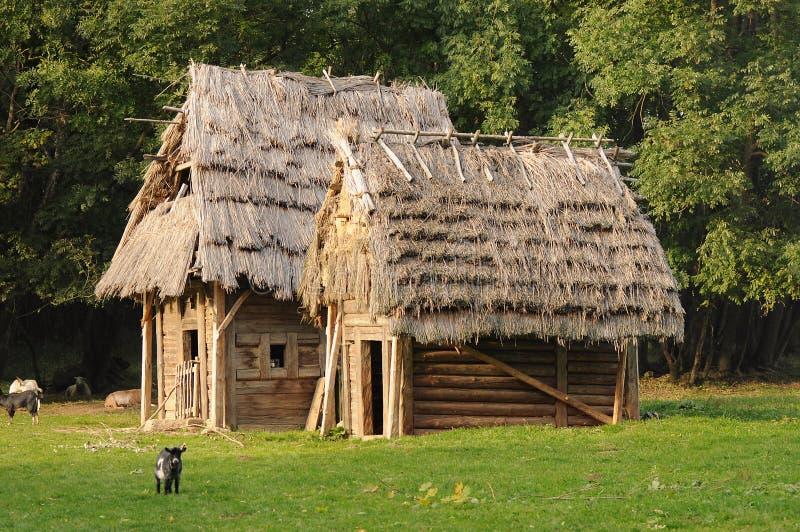 Средневековая архитектура стоковая фотография rf
