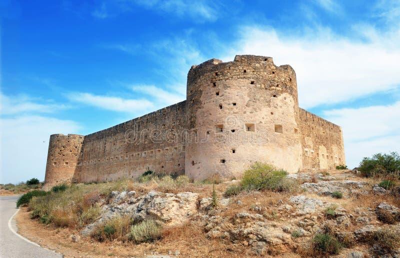 Средневековая крепость в Крите, стоковые фото
