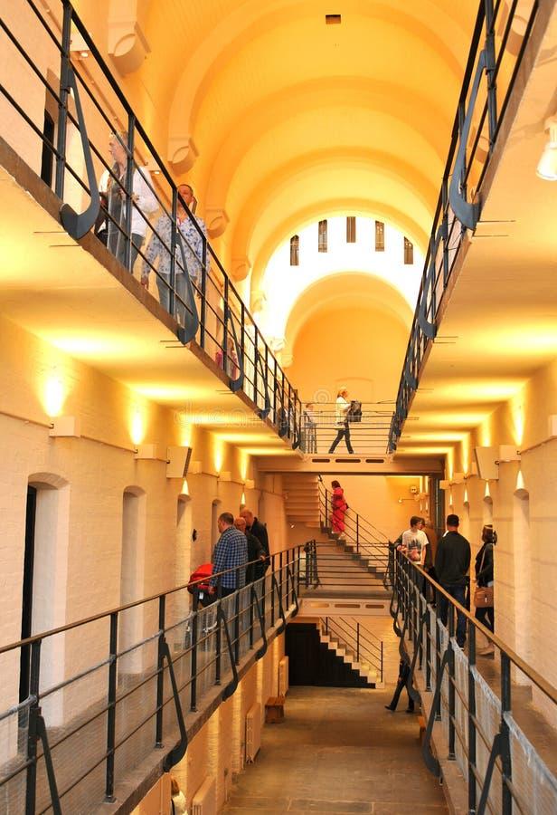 средневековая тюрьма стоковая фотография rf