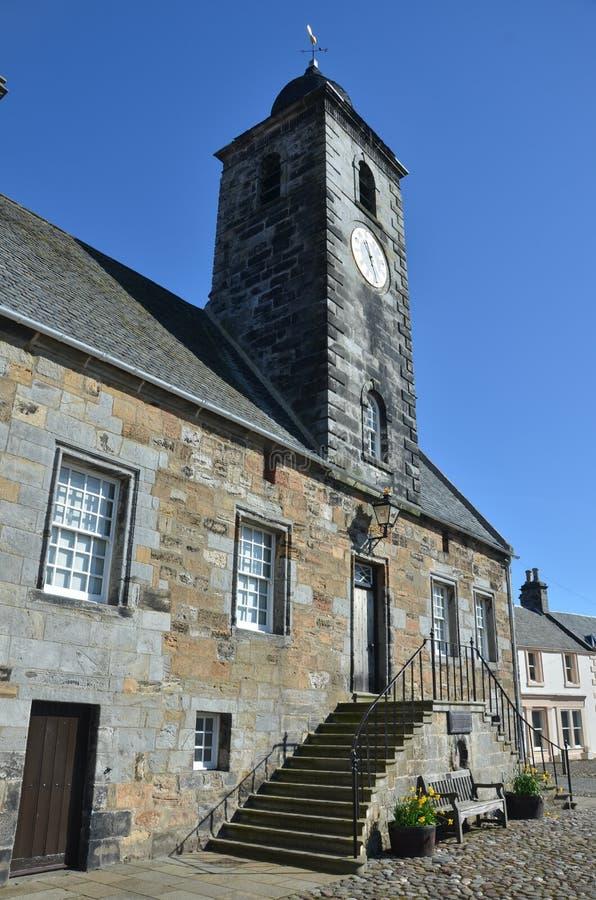 Средневековое здание стоковая фотография