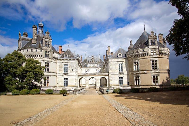 Средневековые замки Loire Valley - le-Lude стоковые фото