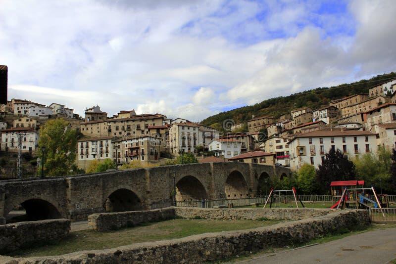 Средневековый городок стоковые фотографии rf