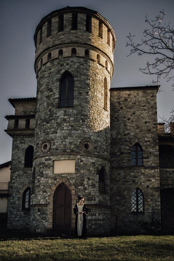 Средневековый замок стоковая фотография rf