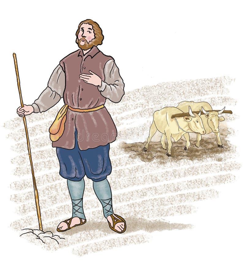 картинки крестьян средневековья умудряются жить море