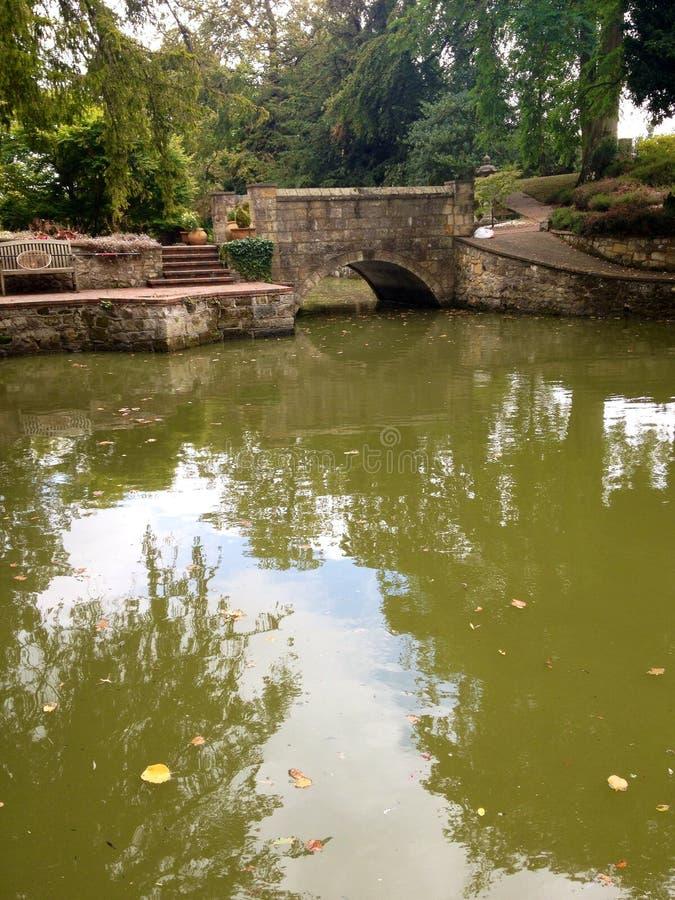средневековый moat стоковое фото