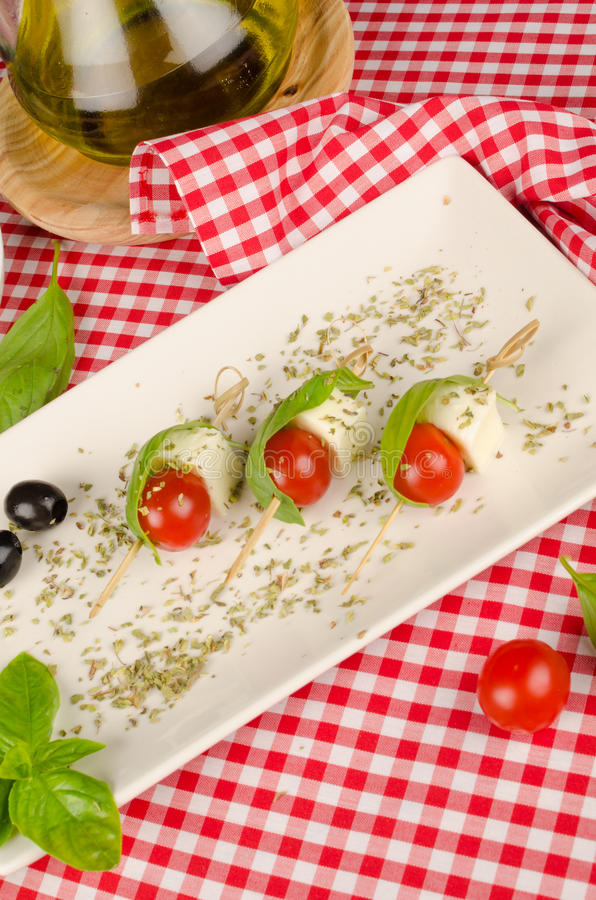 Среднеземноморская еда пальца стоковое изображение