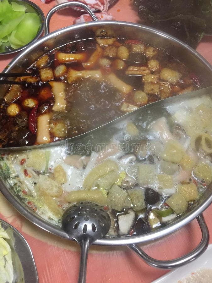 Ссаживая блюдо стоковое изображение