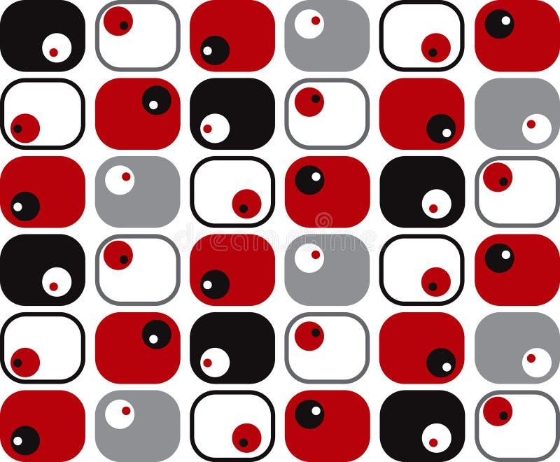 ставит точки ретро мягкие квадраты бесплатная иллюстрация