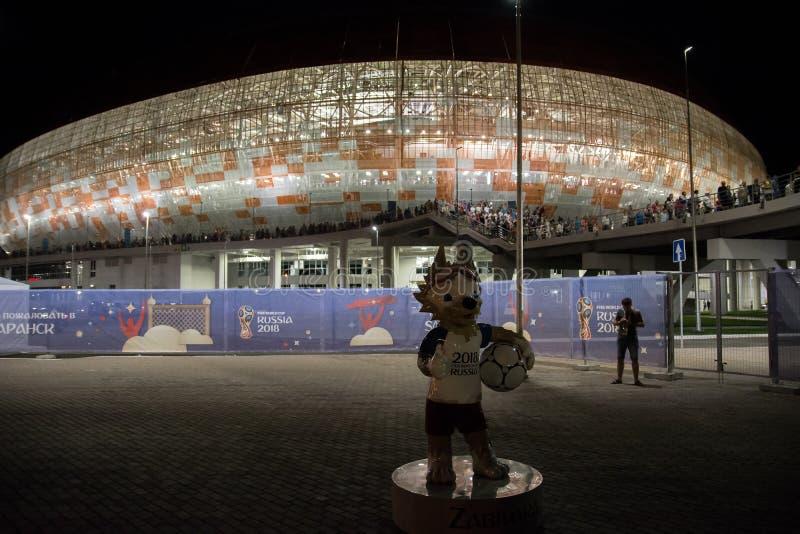 Стадион арены Мордовии стоковое изображение