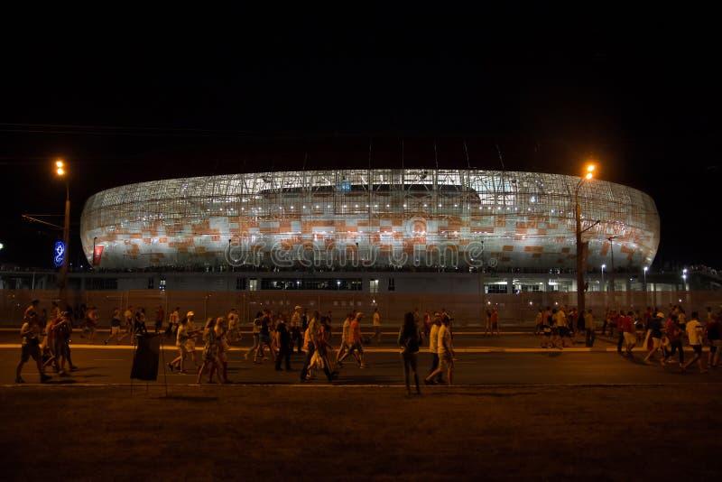 Стадион арены Мордовии стоковая фотография