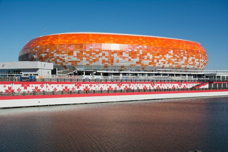 Стадион арены Мордовии стоковые изображения