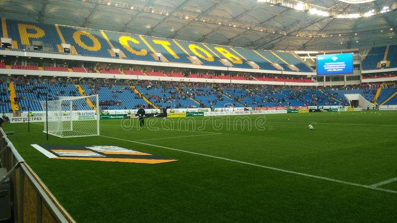 Стадион арены Ростова стоковое изображение