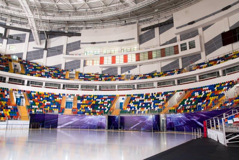 стадион льда стоковые фотографии rf