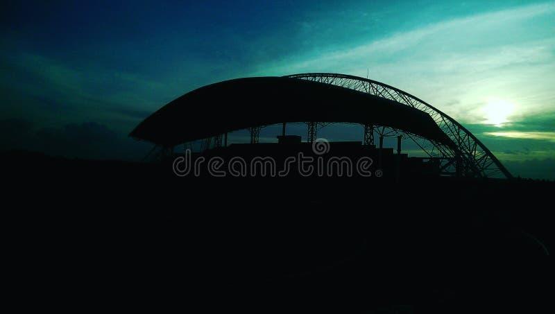 Стадион от jember стоковая фотография