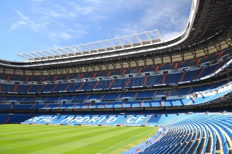 Стадион Сантьяго Bernabeu реального Мадрид стоковые фотографии rf