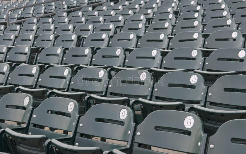 стадион свободных мест бейсбола стоковая фотография rf