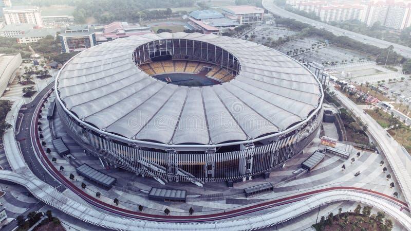 Стадион соотечественника Bukit Jalil стоковое изображение rf