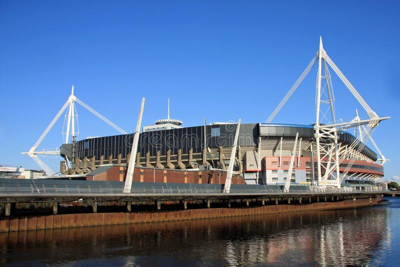 Стадион тысячелетия, Cardiff стоковое фото rf