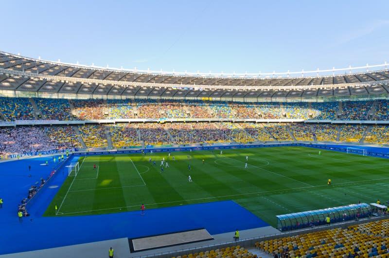 стадион Украина kiev национальный стоковое изображение