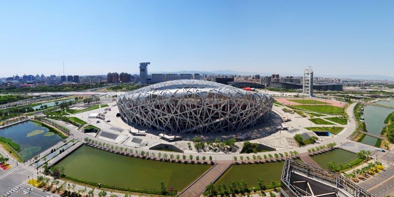 стадион фарфора национальный олимпийский стоковая фотография rf